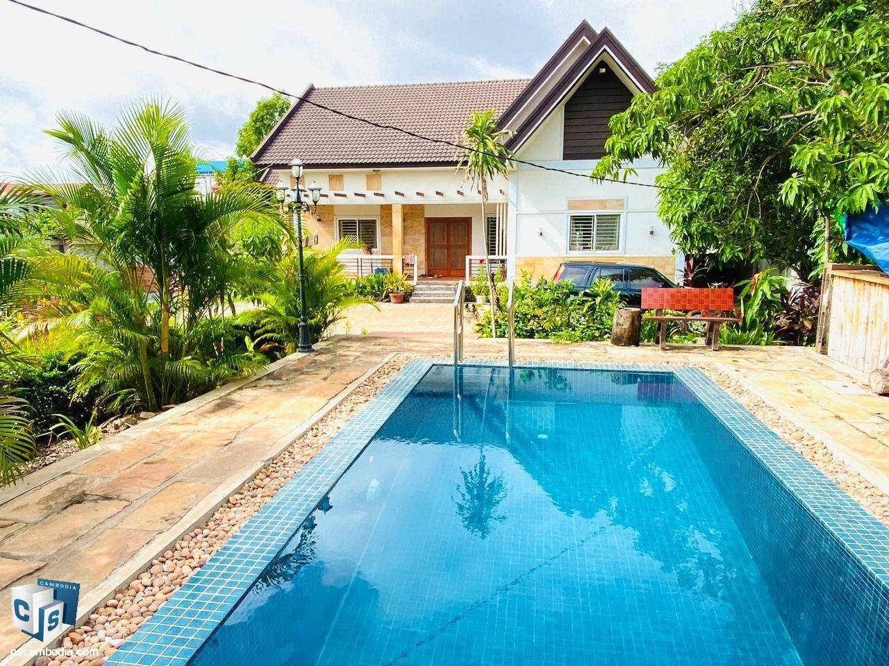 House For Rent In Sla kram – Siem Reap
