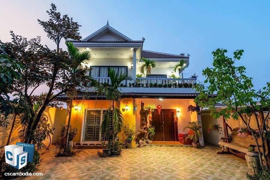 House For Sale In Svay Dangkum – Siem Reap