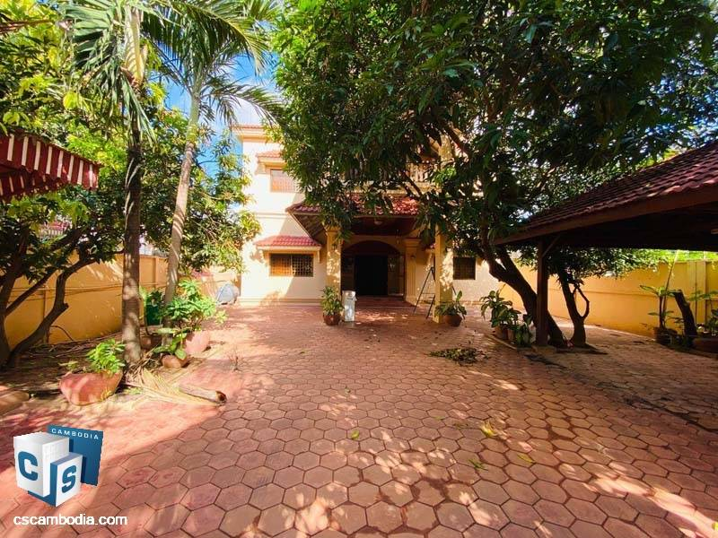 House For Rent In Svay Dangkom-Siem Reap