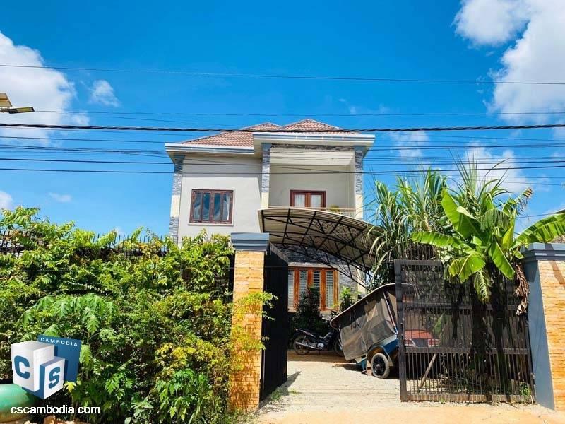Two Story House For Sale In Sla Kram-Siem Reap