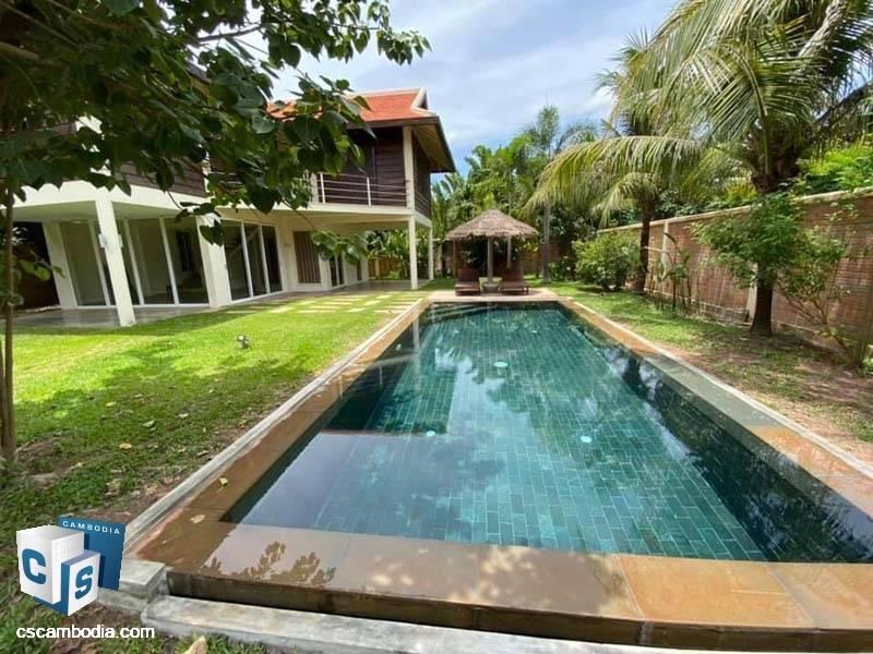 Pool Villa For Rent In Svay Dangkum-Siem Reap