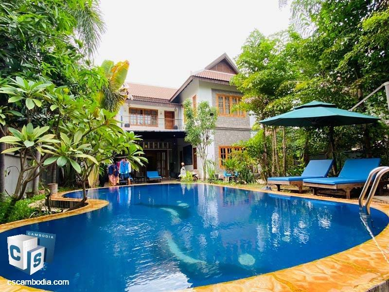 Private Villa For Rent In Sala Kamreuk-Siem Reap
