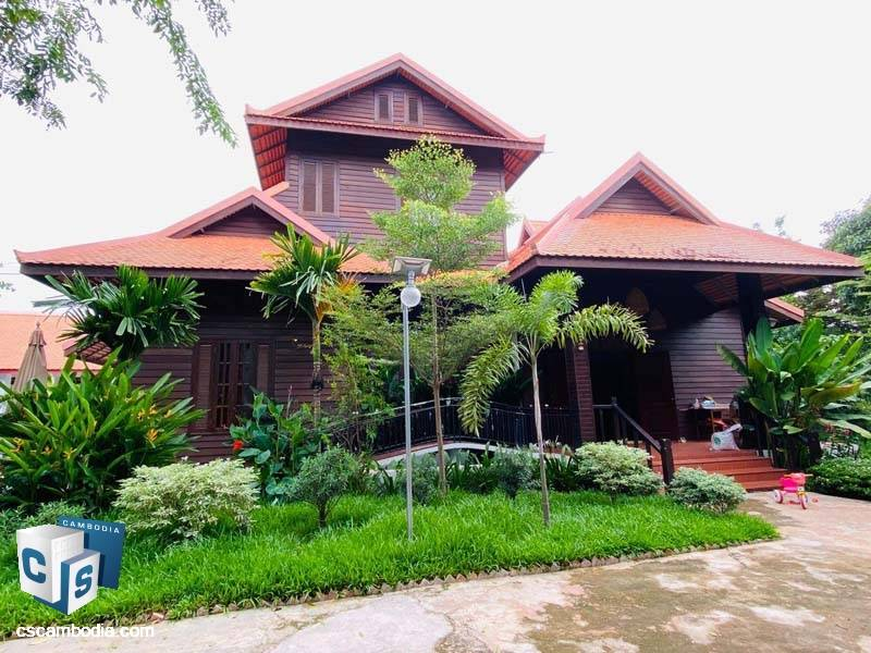 Traditional House For Rent In Sala Kamreuk-Siem Reap