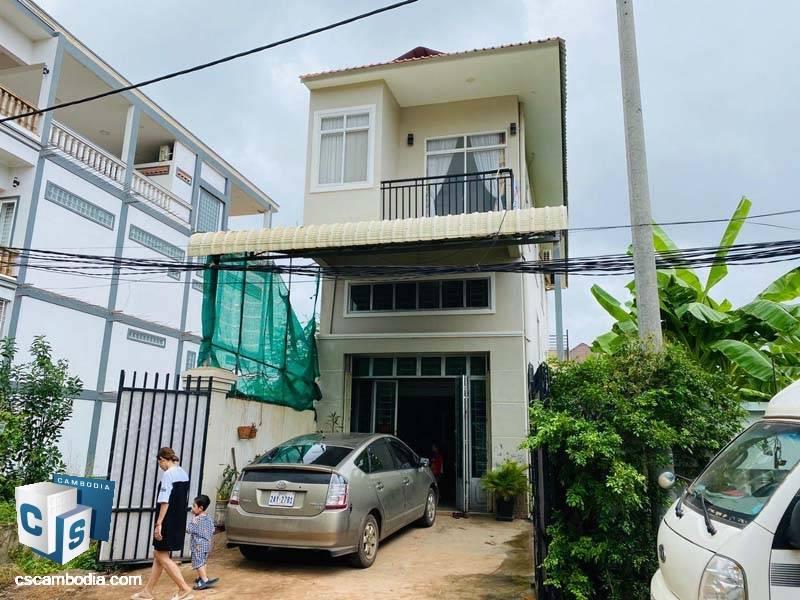 Flat House For Sale In Svay Dangkum-Siem Reap