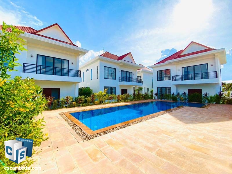 Villa For Sale In Svay Dangkom-Siem Reap