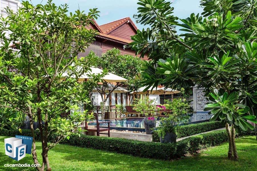 Villa For Rent In Sala Kamreuk-Siem Reap