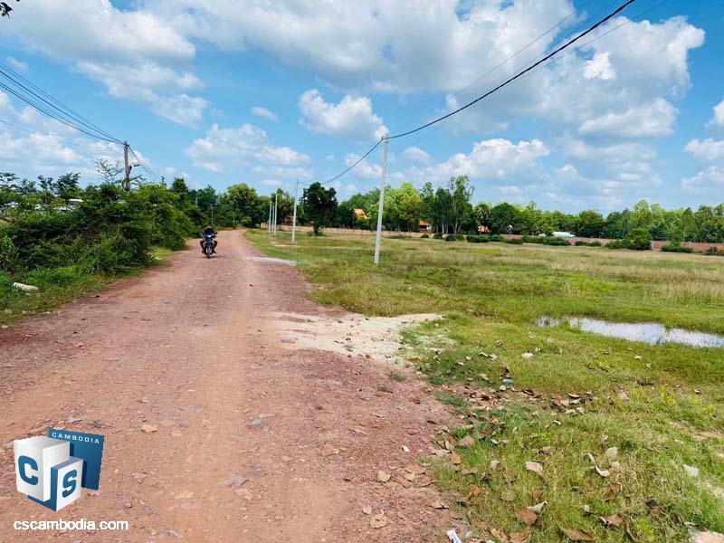 19000m2 Land For Sale In Svay Dangkom-Siem Reap