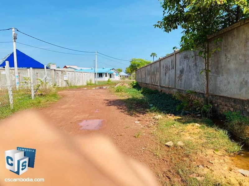 Land For Sale In Svay Dangkom-Siem Reap