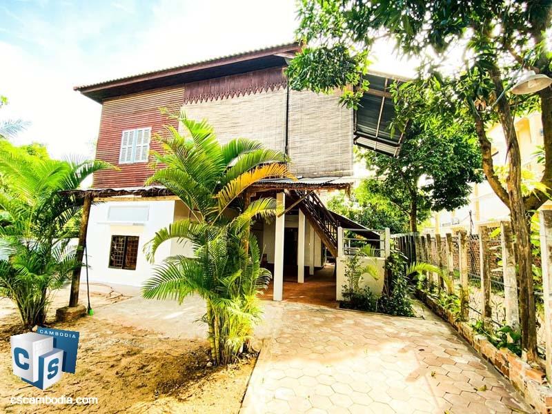 Khmer House For Rent In Sala Kamreuk
