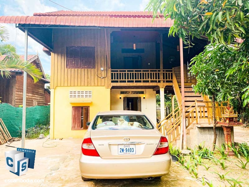 House For Rent In Sala Kamreuk