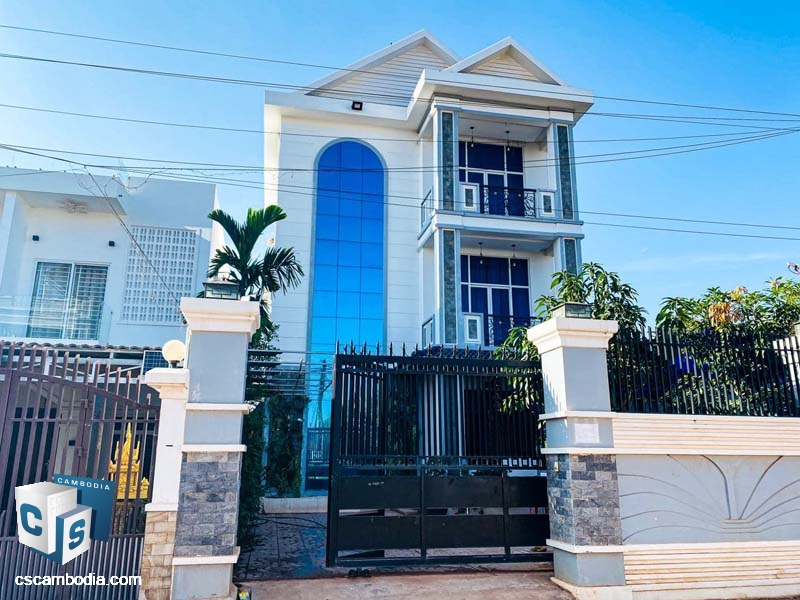 House For Rent In Svay Dangkom-Siem Reap