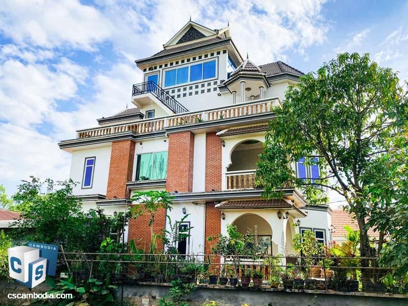 Villa For Sale In Siem Reap