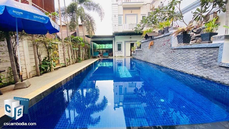 House For Rent In Svay Danhkum-Siem Reap