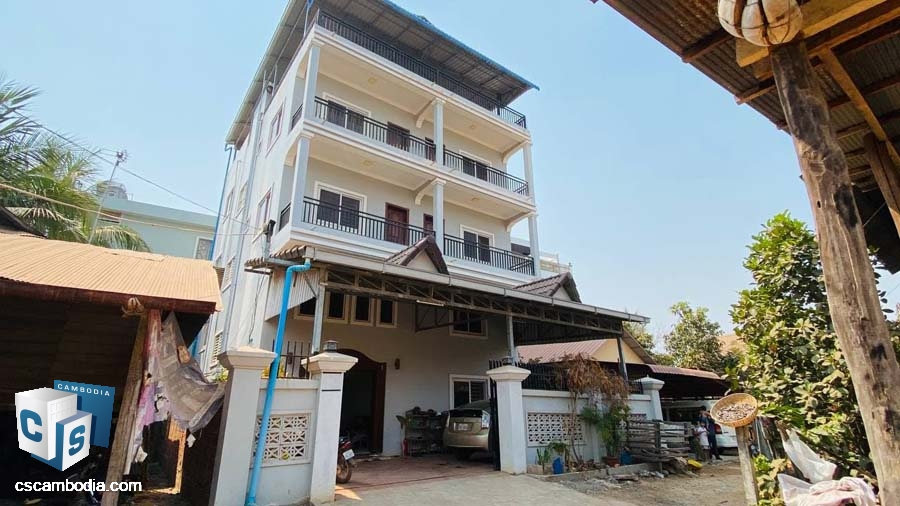Shop House For Rent In Svay Dangkum-Siem Reap
