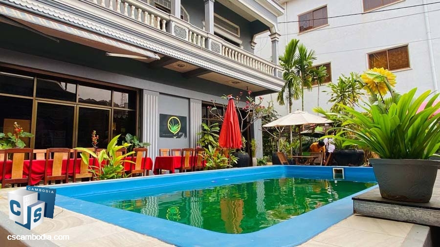 Boutique Hotel For Rent In Siem Reap