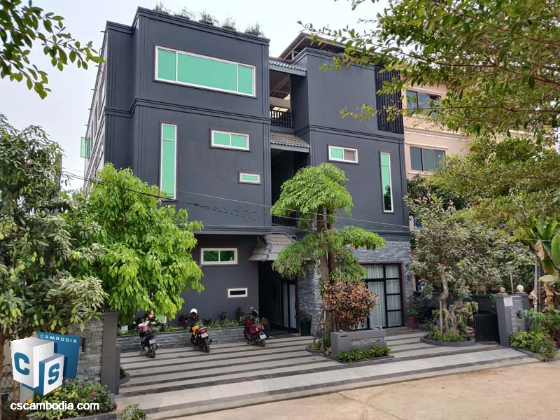 Apartment For Sale in Svay Dangkom-Siem Reap