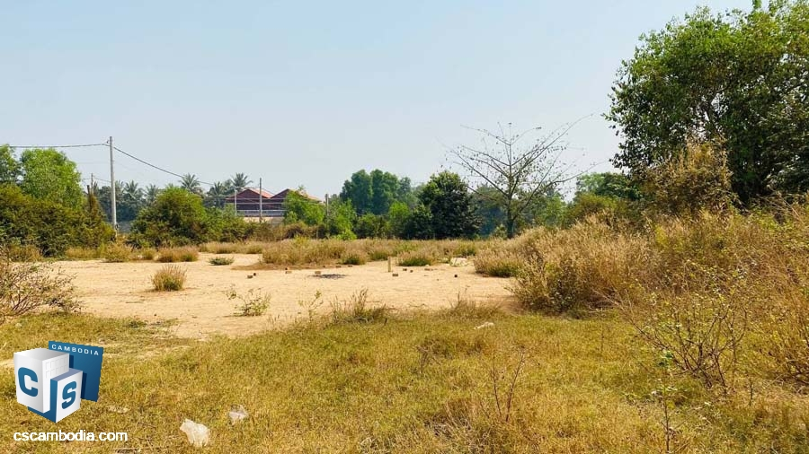Land For Sale In Sala Kamreuk- Siem Reap,