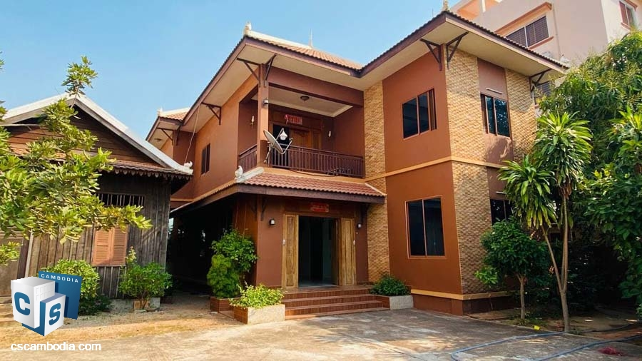 House For Sale in Sala Kamreuk-Siem Reap , Cambodia