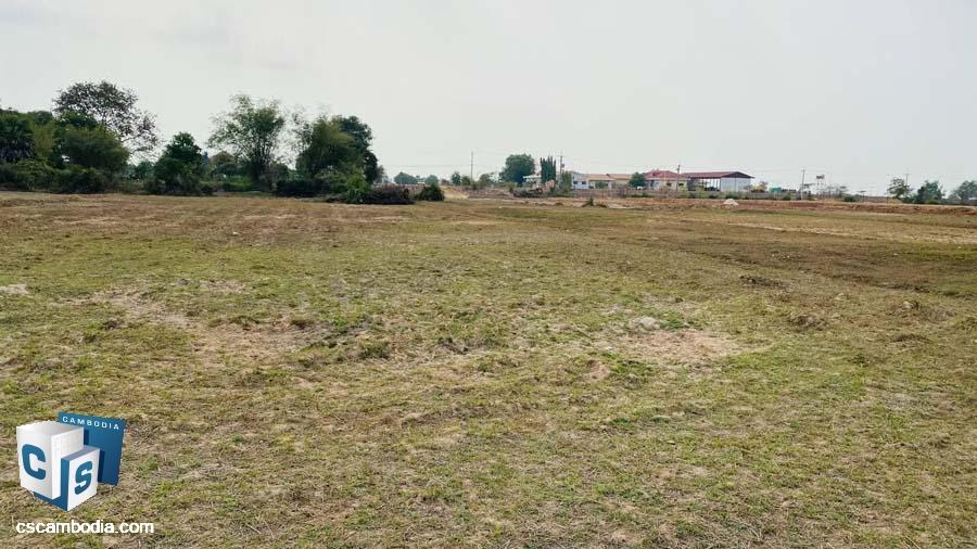 Land For Sale In Sambor Village-Siem Reap,