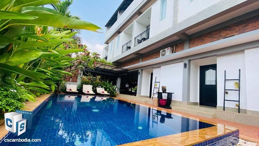 Hotel For Sale In Sala Kamreuk-Siem Reap
