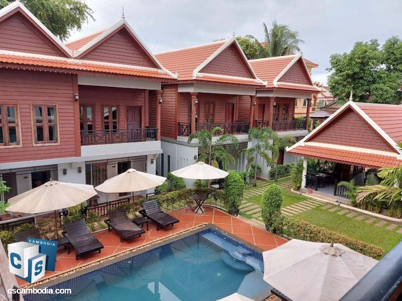 Boutique For Rent in Sala Kanseng Siem Reap Cambodia