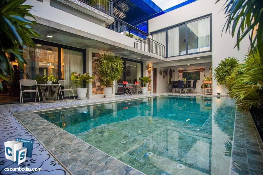 Luxury Pool Villa For Sale-Siem Reap