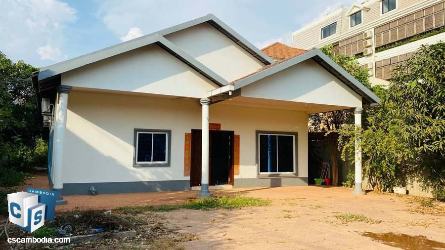 House For Rent In Svay Dangkum-Siem Reap