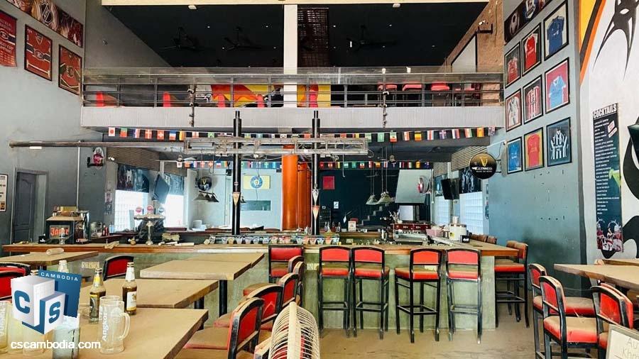 Restaurant For Rent In Svay Dangkum,Siem Reap