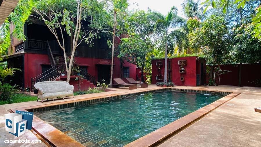 House For Rent In Sala Kamreuk-Siem Reap