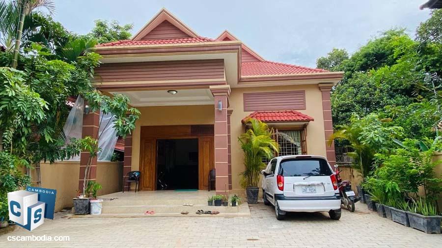 House For Sale In Sla Kram,Siem Reap