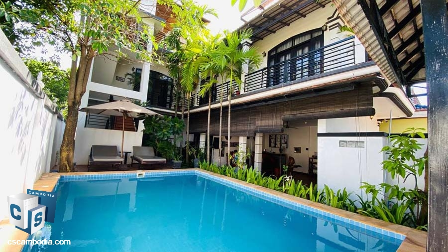 Boutique For Rent In Sla Kram-Siem Reap