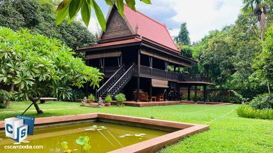 Traditional Khmer House For Sale In Sala Kamreuk-Siem Reap
