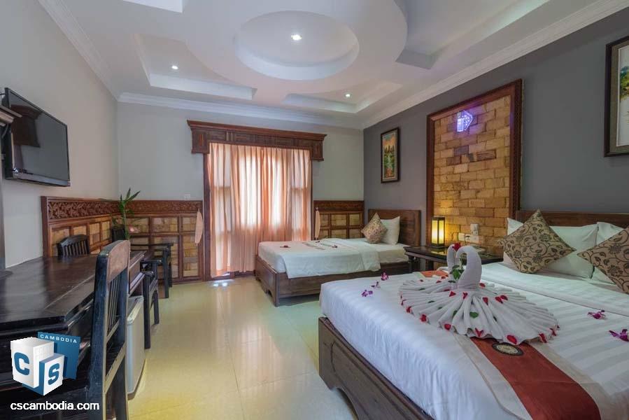 Hotel For Rent In Svay Dangkum-Siem Reap
