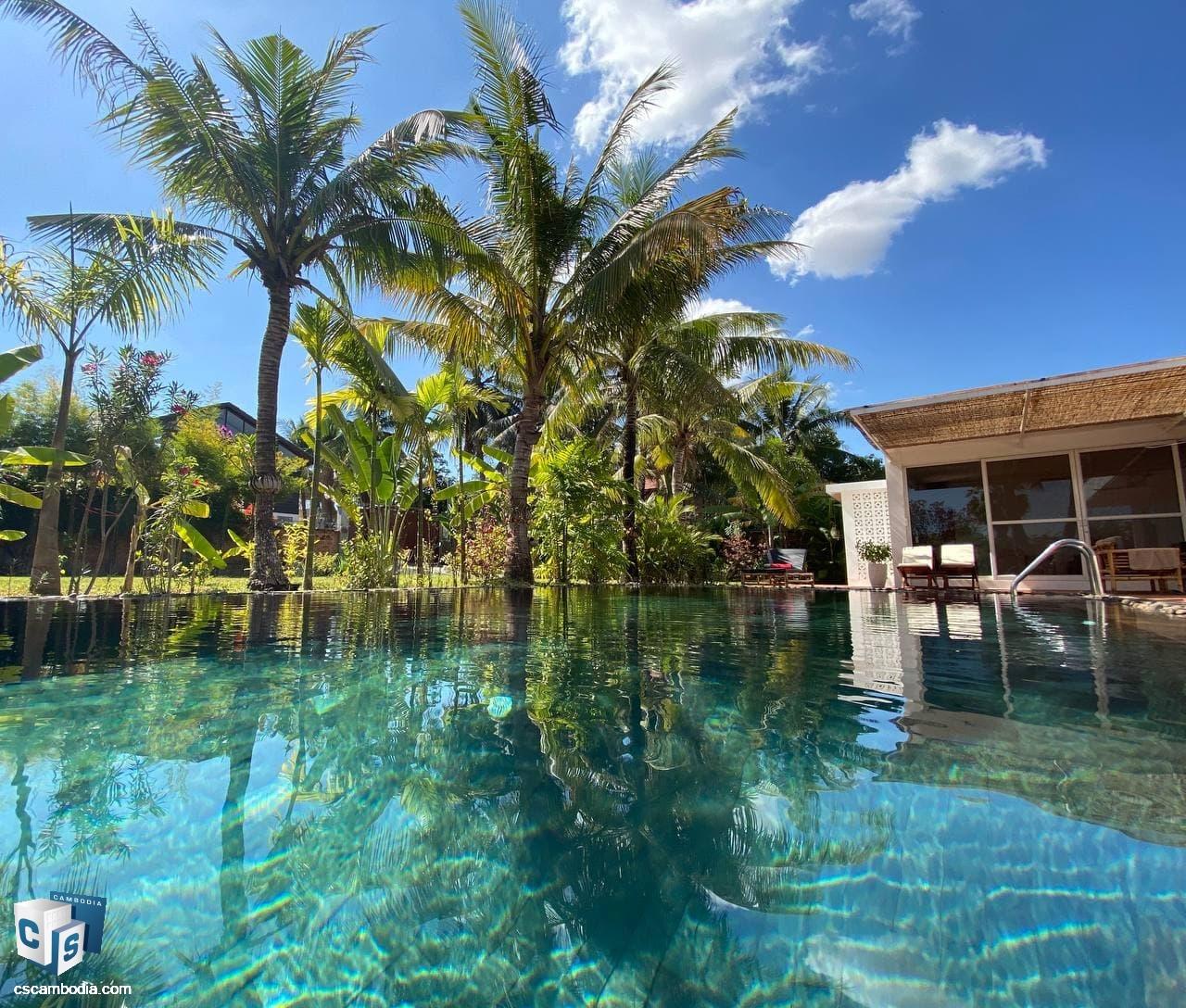 Luxury Pool Villa For Sale In Sala Kamreuk-Siem Reap